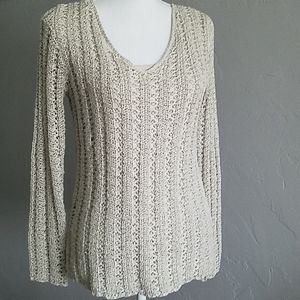 🆕️❄Dana Buchman Loose Knit Sweater XS